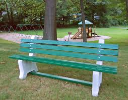Bench Molds - easy to build rv park benches rv daily report