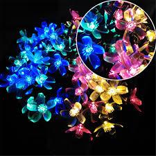 Solar Party Lights Yiyang Solar Led Holiday Garlands String Light 7m 10m Cherry
