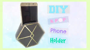 diy phone charger diy kpop phone holder charger exo edition youtube