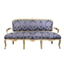 canape louis xv louis xv sofa blue rococo louis 15 furniture
