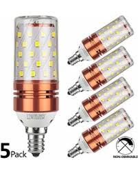led candelabra light bulbs don t miss this deal gezee e12 led corn bulbs 12w led candelabra