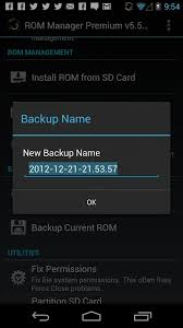 cwm recovery apk rom manager premium android apps on play