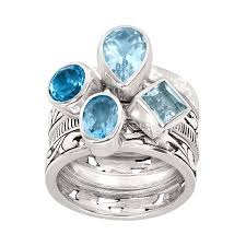 natural rings images Silpada 39 seas the day 39 2 ct natural sky swiss blue topaz jpg