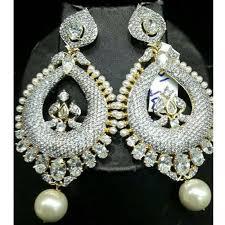 girl earring designer earring at rs 2500 fashion earrings id