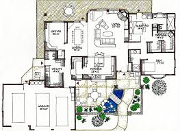 Free Ranch House Plans by Ranch House Plans Handicap Accessible Homeca