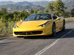 Ferrari 458 Yellow - ferrari 458 spider 2013 pictures information u0026 specs