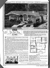 sears home the del rey vintage floorplans pinterest