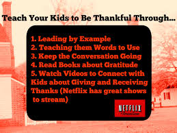 thanksgiving kids videos we are thankful for netflix this holiday