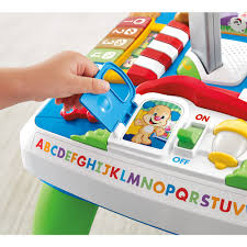 fisher price laugh learn puppy friends learning table fisher price laugh learn around the town learning table english