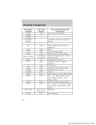 ford escape 2001 1 g owners manual