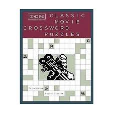 easy crossword puzzles about movies tcm classic movie crossword puzzles paperback target