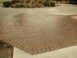 Cv Hardscapes by Portfolio Herringbone Brick Ageless Concrete
