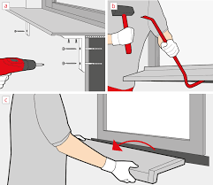 How To Replace A Window Sill Interior How To Remove A Window Sill Windows24 Com