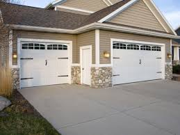 Craftsman Style Garages by The Functional Garage Doors With Windows U2014 Home Ideas Collection