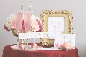 kara u0027s party ideas pink red love themed bridal shower