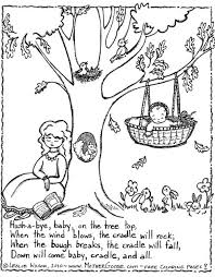 nursery rhyme notebooks 10 coloring pages color learn