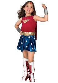 girls wonder woman costume kids superhero halloween costumes