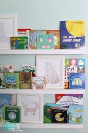 How To Make Wall Shelves Diy Bookshelf Ledges For The Nursery The Turquoise Home