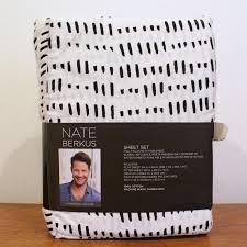 upc 490621901372 nate berkus micro dash queen sheet set white
