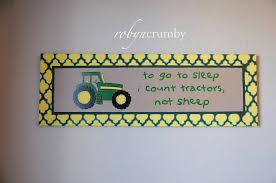 robyn crumby canvas art john deere nursery