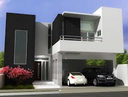Simple Modern House White Contemporary House Visually Stunning White Contemporary Home