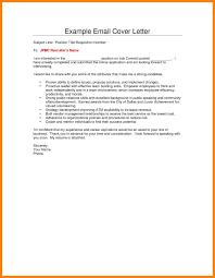 resume email letter sample sample business email letter of