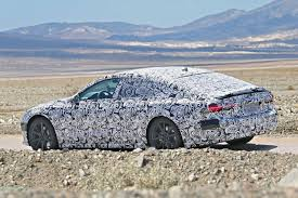 2019 audi a7 prototype reveals new taillight design clusters are