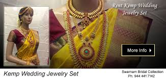 bridal sets for rent swarnam rent bridal jewellery wedding jewelry chennai