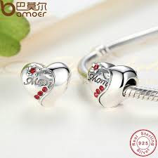 s day charms aliexpress buy bamoer authentic 925 sterling silver