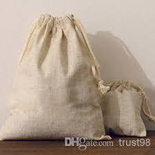 linen favor bags jewelry linen drawstring pouch 8x10cm 9x12cm 10x15cm 13x17cm