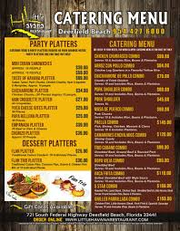 bd cuisine authentic cuban cuisine banquet and catering menu for deerfield