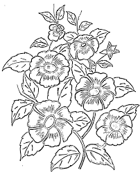 easy flower patterns to paint