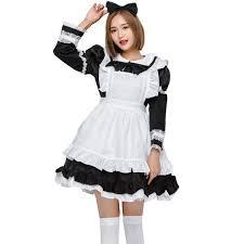 japan maid costume sweet gothic dress anime cosplay