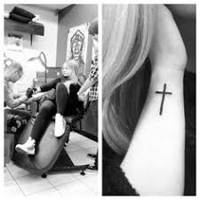 side wrist cross search tattoos