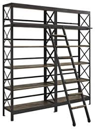 headway wood bookshelf rustic bookcases by vb home furniture