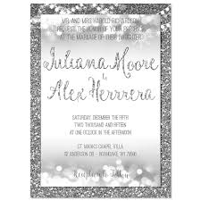 silver and white invitations wedding invitations archives page 2 of 8 odd lot paperie