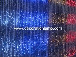 led waterfall light manufacturer quality led waterfall light