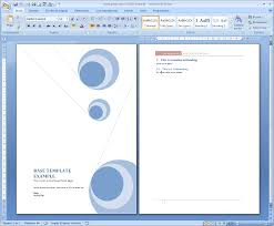Cover Pages For Word Templates by Front Page Png