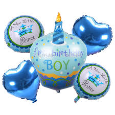 helium birthday balloons 5pcs birthday boy girl helium foil balloons happy birthday