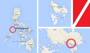 Phillipines Map Coron Philippines Map Getting Stamped