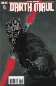 star wars darth maul 1 comicspro exclsuive red sketch variant
