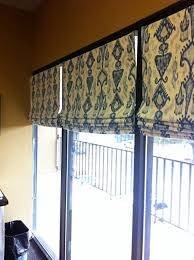 Curtain Rod Roman Shades - how to make lined roman shades with mini blinds sewing home