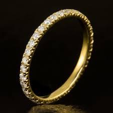 eternity wedding ideal cut diamond eternity wedding band stacking ring 18k