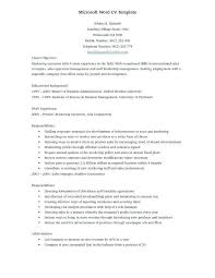 resume ms word format efficiencyexperts us