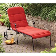 Courtyard Creations Patio Furniture Replacement Cushions by Better Homes And Gardens Clayton Court Chaise Lounge With Wheels
