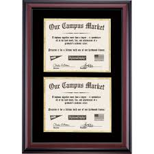 clemson diploma frame diploma frame with black and gold matting for two 8 5 x 11