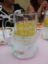 Beer Centerpieces Ideas by Brew Pub Bridal Shower Centerpiece Beer Mugs With Carnations