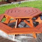 the 25 best octagon picnic table ideas on pinterest octagon
