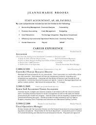 Resume Junior Accountant Sample Resume Cpa Firm Eliolera Com