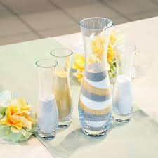Sand Vases For Wedding Ceremony 4pc Personalized Unity Sand Ceremony Set